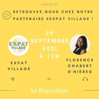 Florence présente le Brain Gym, comment bien utiliser son cerveau - 29 09 2021 - StereoChic Radio cover