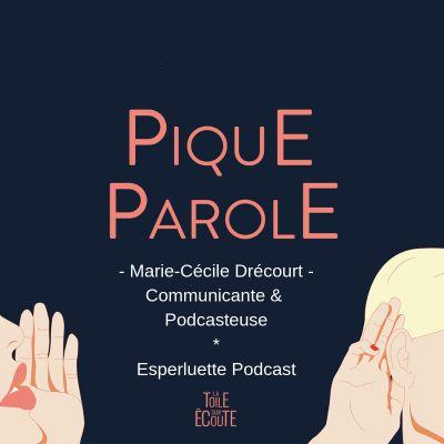 Pique Parole - Marie-Cécile, créatrice d'Esperluette Podcast cover