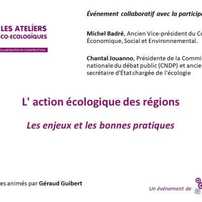 Atelier Co Ecologique / L'action écologique des régions, les enjeux et les bonnes pratiques cover
