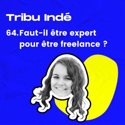 64. Faut-il être expert pour être freelance ? • Avec Aline (The BBoost) cover