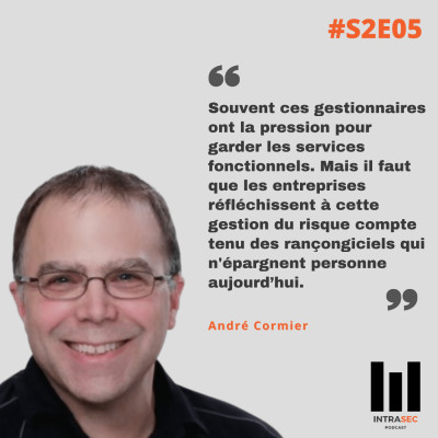 S2E05 - André Cormier - Conférence Forensik 2020 cover