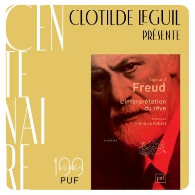 """Clotilde Leguil présente """"L'interprétation du rêve"""" de Sigmund Freud cover"""