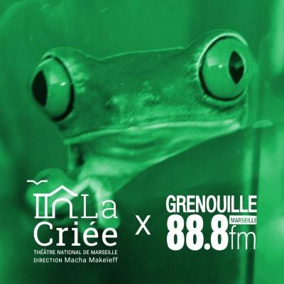 La Criée x Radio Grenouille - Rencontre avec Laurent Ziserman cover