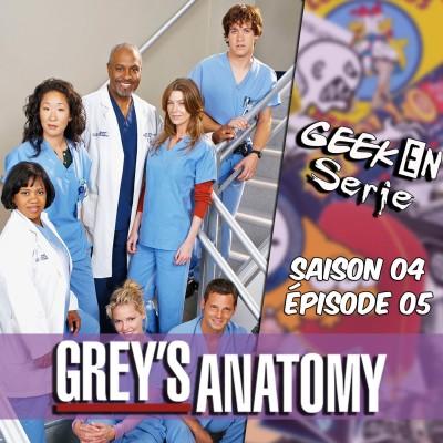 image Geek en série 4x05 : Grey's Anatomy