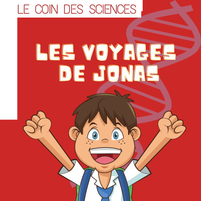 Episode 1 : Jonas et le tourbillon de l'ADN cover