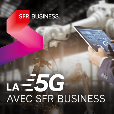 La 5G avec SFR Business cover