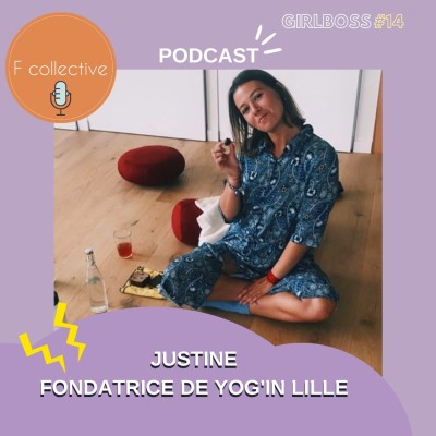 #14 Justine - Fondatrice de Yog'in Mama (dealeuse de bien-être - Lille) cover