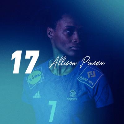 17 — Les failles (et les forces) d'Allison Pineau, icône du handball cover