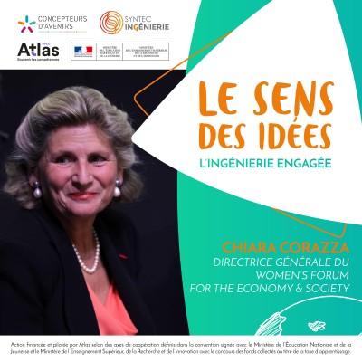 INVITÉE SPÉCIALE - Chiara Corazza, Directrice Générale du Women's Forum for the Economy & Society cover