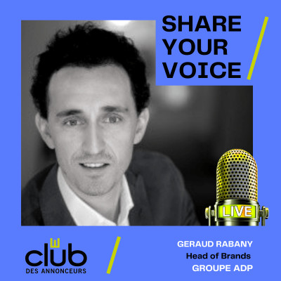 SHARE YOUR VOICE : GERAUD RABANY, GROUPE ADP cover