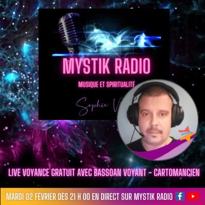 Live voyance gratuit Bassoan voyant et cartomancien chez Infinità Corse Voyance 02.02.2021 cover