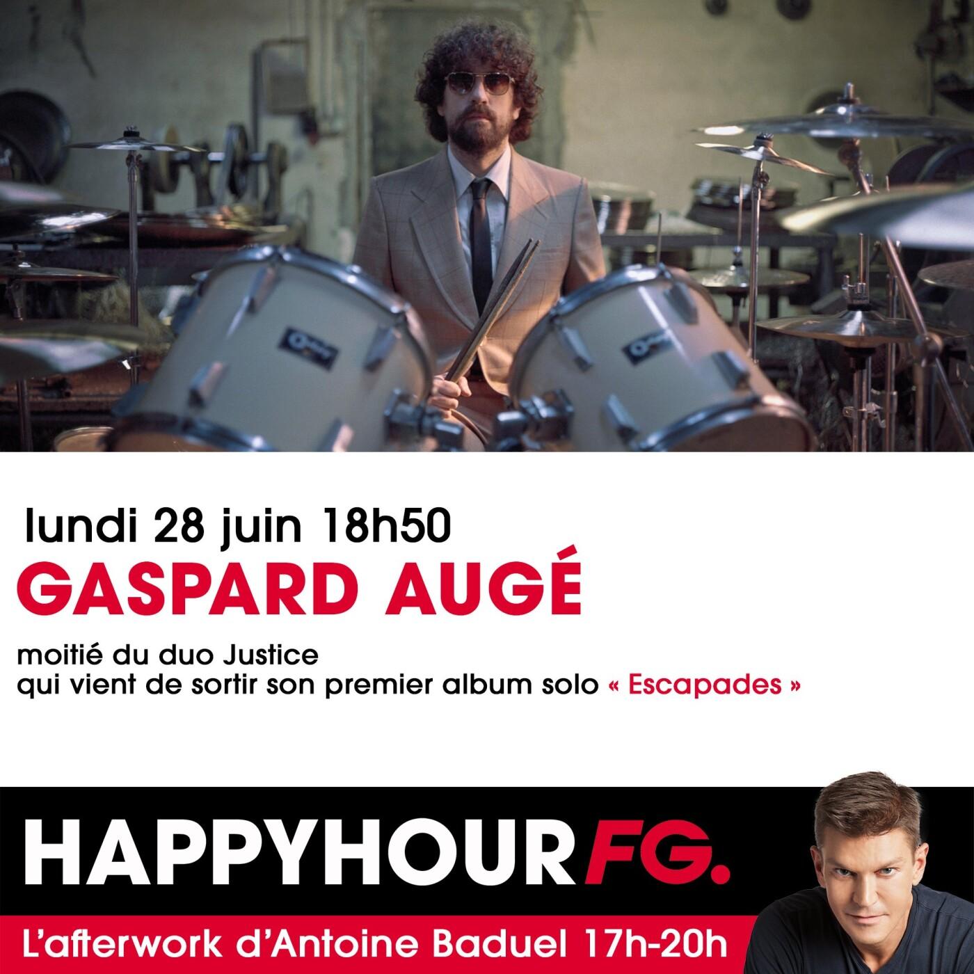 L'INTERVIEW DE GASPARD AUGE DANS L'HAPPY HOUR FG