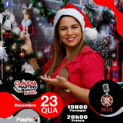 LUSOTIME & RAIZES - Emission de Noël du 24/12/2020 avec Claudia Martins cover