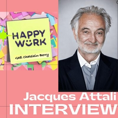 #302 : REPLAY - INTERVIEW -  Jacques Attali cover