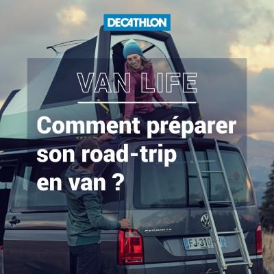 # 46 La Van life - Comment bien préparer son premier road-trip en van ? cover