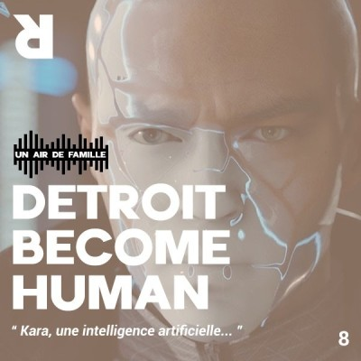 Un Air de Famille #8 : Detroit Become Human cover