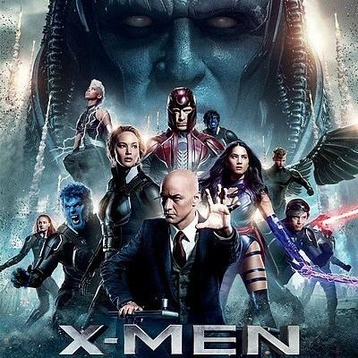 X-Men : Apocalypse de Bryan Singer cover