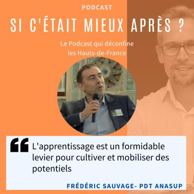 #45 - Frédéric Sauvage /// L'apprentissage doit se sortir de cette crise - Formasup & Anasup