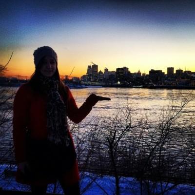 #1 – Sarah quitte tout, en moins d'un mois, pour rejoindre le froid Canadien cover