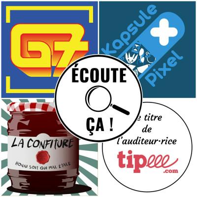 Ep 90 : Zikdepod S03E03 (Kapsule Pixel, La Confiture, G7, David (Tipeee)) cover
