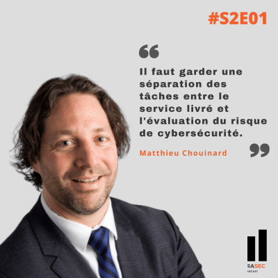 S2E01 - Matthieu Chouinard - Conférence Forensik 2020 cover