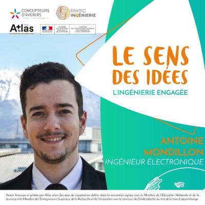 SANTÉ & INNOVATION - Antoine Mondillon, ingénieur électronique cover
