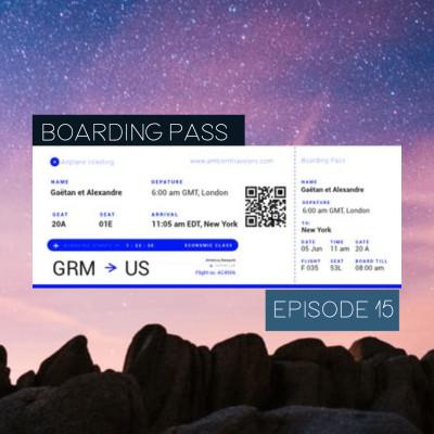 Boarding Pass 015 ✈️ Suso Saiz et Stellardrone cover
