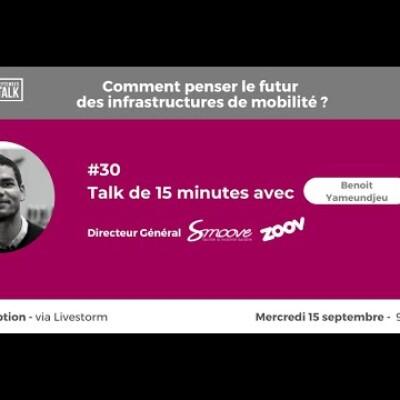 September Talk #30 L'innovation dans les stations de vélo en libre-service, avec Smoove & Zoov ! cover