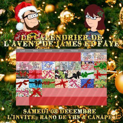 Calendrier de l'avent 08 décembre : Rano de VHS et Canapé cover