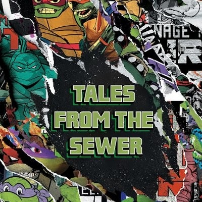 Tales from the Sewer #13 - Amer podcast ( Batman / TMNT ) cover