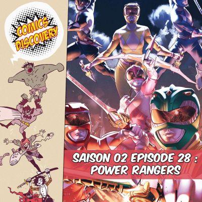 image ComicsDiscovery S02E28 : Power rangers