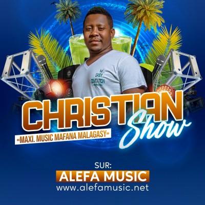 CHRISTIAN SHOW - 9 JANVIER 2021 - ALEFAMUSIC RADIO cover
