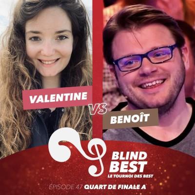 [n°47] Valentine vs. Benoît : retards, jingles et petits soucis de réception (Quart de finale A) cover