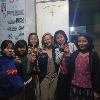 Camille, Volontaire Bambou en Birmanie - 2020 cover