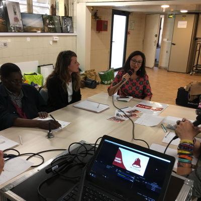 image Radio Bitume - Paris - émission n°16 hors les murs à La Fabrique de la Solidarité - enregistrée le mardi 10 septembre