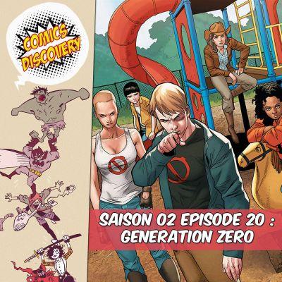 image ComicsDiscovery S02E20 Génération zéro