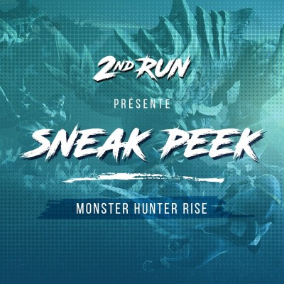 Sneak Peek #2 : Monster Hunter Rise cover