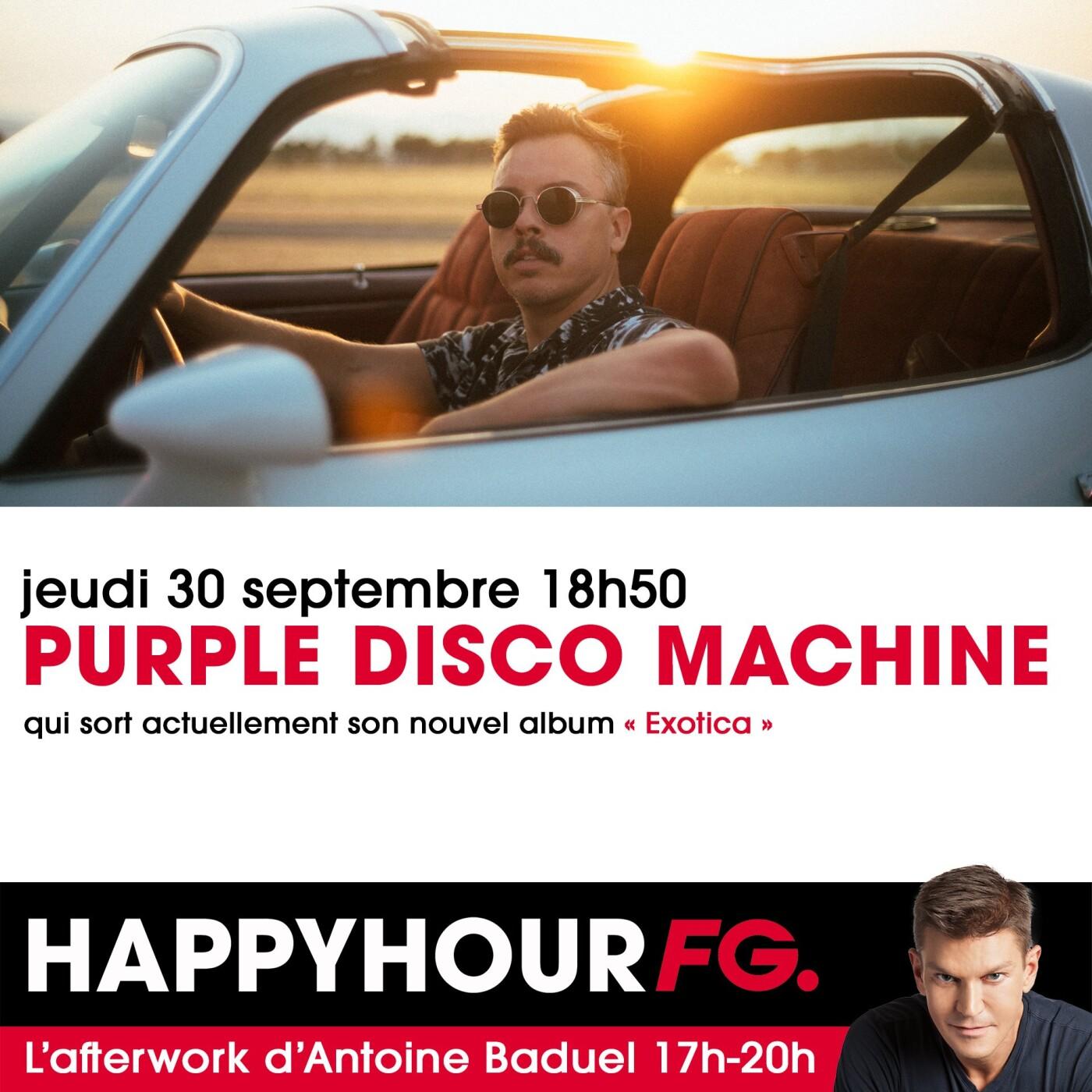 HAPPY HOUR INTERVIEW : PURPLE DISCO MACHINE