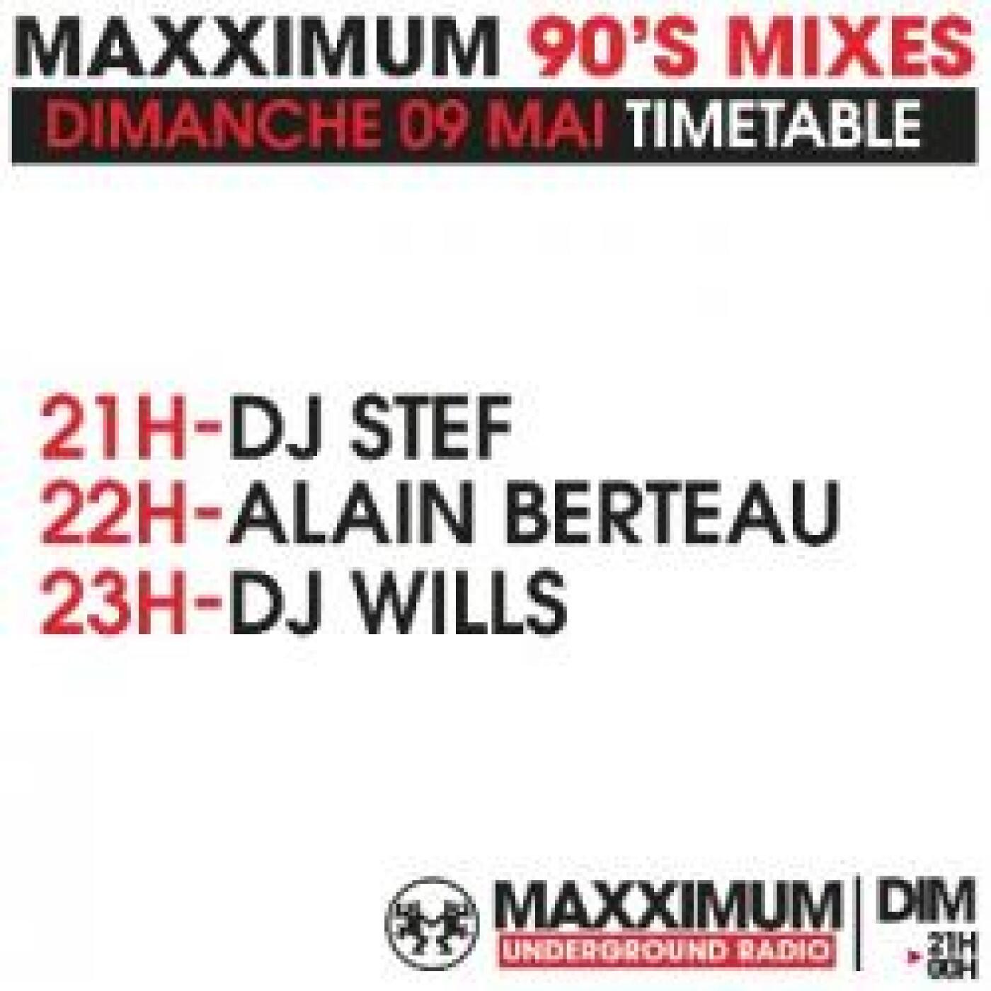 PANORAMAXX 90'S : DJ WILLS