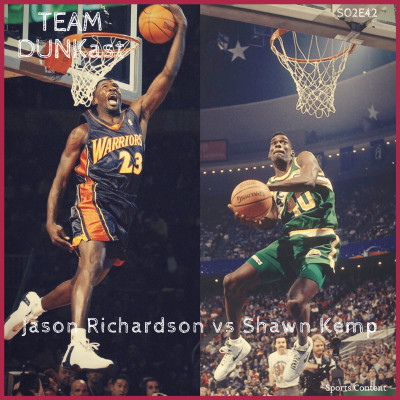 Jason Richardson vs Shawn Kemp cover