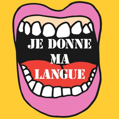 Je donne ma langue cover