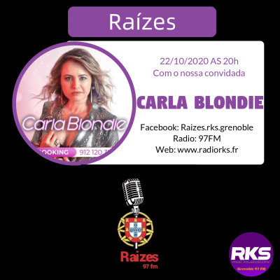 LUSOTIME 22102020 - Interview Carla Blondie cover