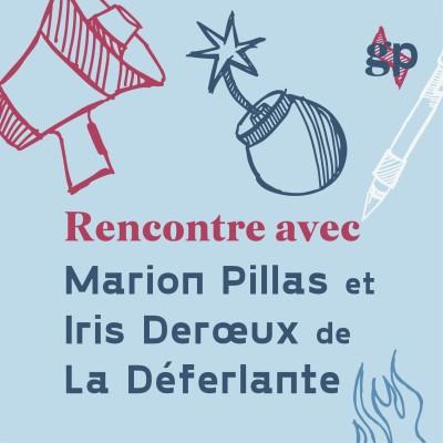 La Deferlante par Marion Pillas Iris Deroeux GIRLS power cover