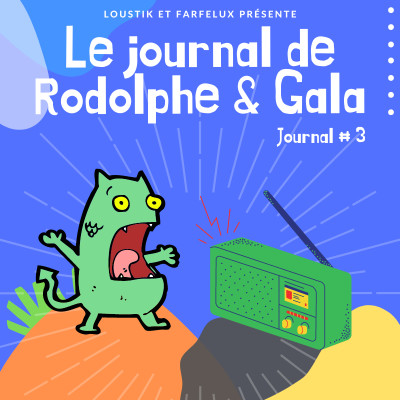 Le Journal de Rodolphe et Gala #3 cover