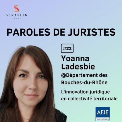 #22 - Yoanna Ladesbie - L'innovation juridique en collectivité territoriale cover