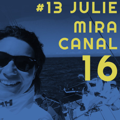 #13 Julie Mira - Panne de gasoil au Groenland, départ au tas à 6 ans et 66 kn en cata 💪 cover