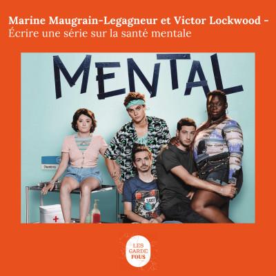 Marine et Victor, écrire une série sur la santé mentale cover