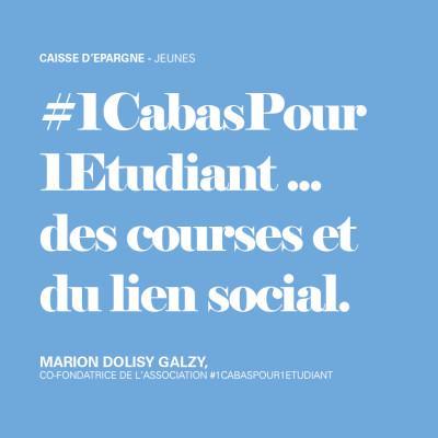 1CabasPour1Etudiant... des courses et du lien social cover
