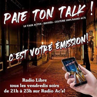 """""""Paie ton talk"""" du 11/12/20 cover"""