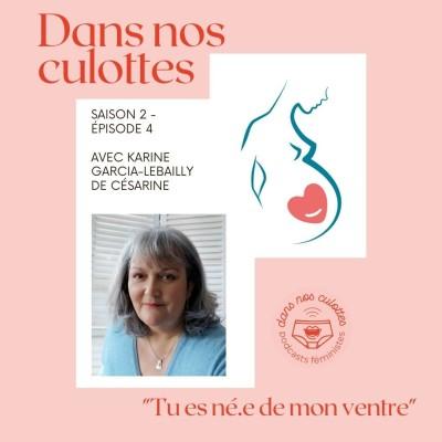 """""""Tu es né.e de mon ventre"""" avec Césarine cover"""